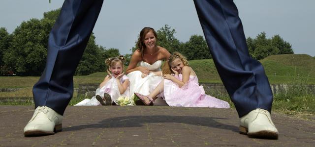 014 Bruidsreportage Naarden Vesting